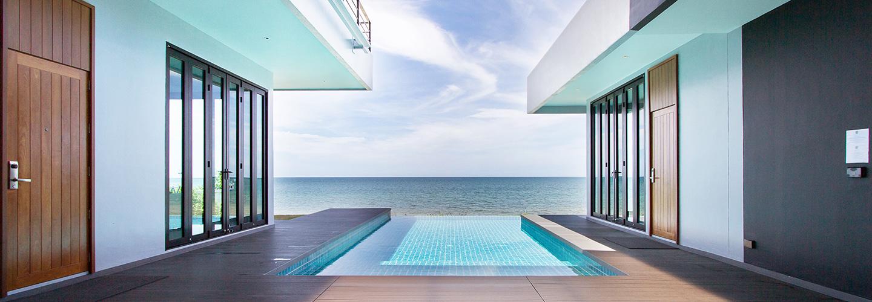 Three Bedroom Beachfront Pool Villa 0