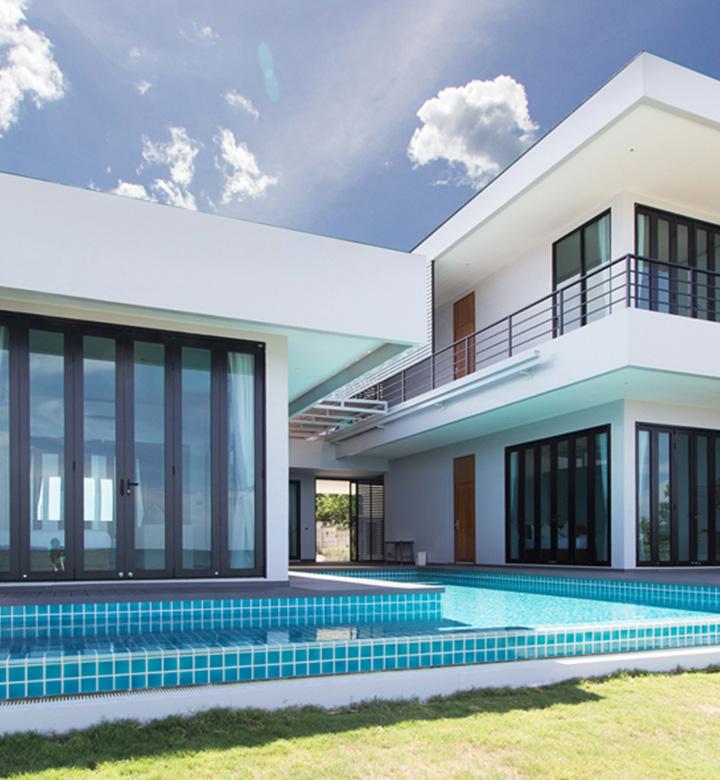 Three Bedroom Beachfront Pool Villa 1
